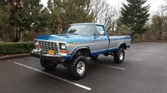 Seller of Classic Cars - 1979 Ford (Blue/Blue) 1979 Ford Truck, Ford Trucks, Classic Cars, Monster Trucks, Vehicles, Blue, Image, Ideas, Vintage Classic Cars