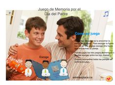 ideas -  Emma's Place Memory Games, You Can Do, Fathers Day, Memories, Spanish, Cards, Ideas, Couples, Memoirs