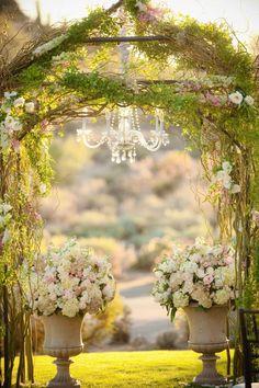 Trendy wedding arch with chandelier love Ideas Wedding Ceremony Ideas, Wedding Chuppah, Ceremony Decorations, Farm Decorations, Reception, Trendy Wedding, Fall Wedding, Our Wedding, Dream Wedding