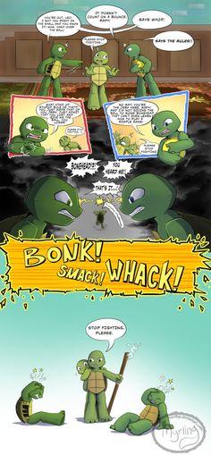 TMNT - Stop Fighting by Myrling on DeviantArt Lovable, laidback and lazy. Caring, cozy and supercr Tmnt 2012, Ninja Turtles Art, Teenage Mutant Ninja Turtles, Tmnt Mikey, Tmnt Leo, Tmnt Human, Turtle Tots, Deviantart, Tmnt Comics