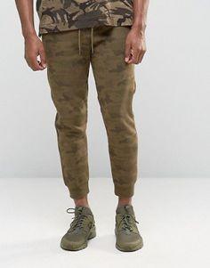 Asos Asos Drop Crotch Joggers With Taping In Brown Pinteres