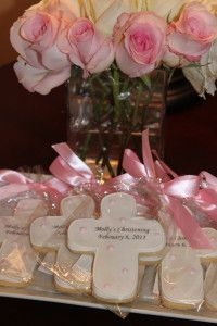 Christening Party Cookies