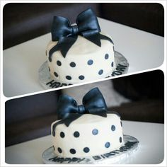 First attempt at bow cake