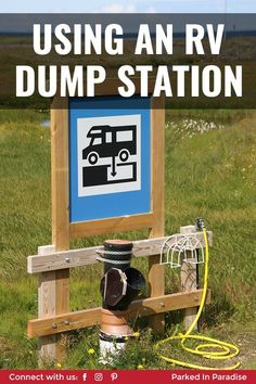 Ideas for finding RV dump stations and advice for dumping your black and grey water tanks. Learn the motorhome accessories and gadgets you need while camping. Beginner guide to keeping your water syst Rv Camping Checklist, Rv Camping Tips, Travel Trailer Camping, Camping Essentials, Camping Life, Rv Life, Tent Camping, Camping Survival, Survival Gear