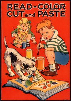 Merrill ''Read-Color Cut and Paste'' 1936 | eBay