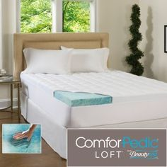 ComforPedic Loft Beautyrest 5.5-Inch Supreme Gel Memory Foam Topper