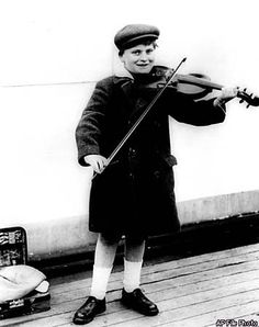 Yehudi Menuhin Revered as Musician, Humanitarian / Admired by Einstein,  gifted artist shared himself with the
