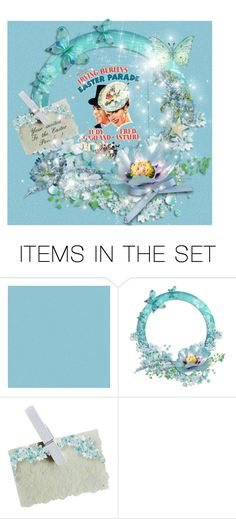 """""""In my Easter bonnet"""" by joyfulmum ❤ liked on Polyvore featuring art"""