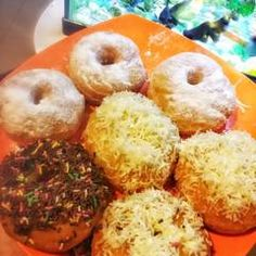 ditutup Doughnut, Tips, Desserts, Recipes, Food, Tailgate Desserts, Deserts, Recipies, Essen