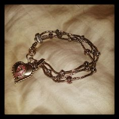 Brighton's limited edition Breast Cancer Awareness Bracelet