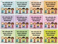 Ideenreise: Kärtchen für den Kindertag