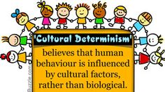 Cultural determinism meaning
