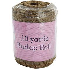 Burlap Roll - 10 Yards Burlap Rolls, Diy Supplies, Drink Sleeves, It Works, Yards, Essentials, Crafts, Craft Ideas, Manualidades