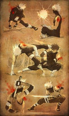 Naruto - Yamato (Tenzou) x Kakashi Hatake - KakaYama