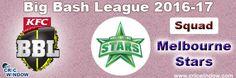 Big Bash League Melbourne Stars Squad http://www.cricwindow.com/big-bash-league-2016-2017/melbourne-stars-squad.html