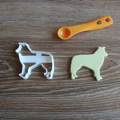 Border Collie Cookie Cutter Dog Breed Pup PetTreat Cutter puppy Pupcake topper cake topper by CookieCuttersFactory on Etsy