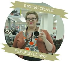 plus size thrifting tips!