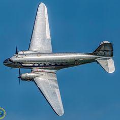 C-47 A-60-DL Skytrain painted as a Scandinavian Air Line System DC-3.