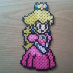 Princess Peach perler beads by onlyhamabeads