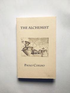 The Alchemist Paulo Coelho minimalistic custom made book cover design Book cover The alchemist paulo coelho Alchemist book