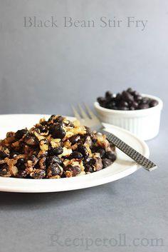 Black bean Stir Fry | Black beans thoran ~ Sankeerthanam (Reciperoll.com)|Recipes | Cake Decorations | Cup Cakes |Food Photos