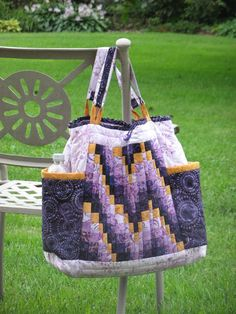 Looking for your next project? You're going to love Bargello-to-go Bag by designer QuiltD.Signs.