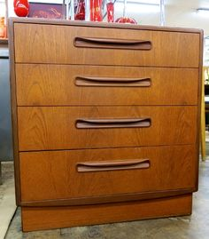 Petite 1960's 4 drawer chest by G Plan