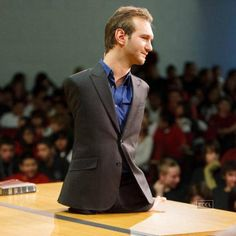 Nick Vujicic is an Australian Christian evangelist and motivational speaker born with tetra-amelia syndrome, a rare disorder characterised by the absence of all four limbs. Vujicic presents motivational speeches worldwide which focus on life with a disability, hope and finding meaning in life. He also speaks about his belief that God can use any willing heart to do his work and that God is big enough to overcome any disability.See more of: Nick Vujicic