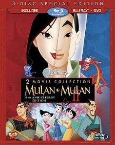 2-Movie Collection (Mulan & Mulan II 15th Aniversary Edition)