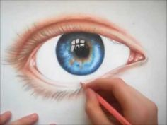 How to Draw a Realistic Nose in Colored Pencils - YouTube
