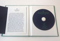 Creative Review - Staycations album packaging