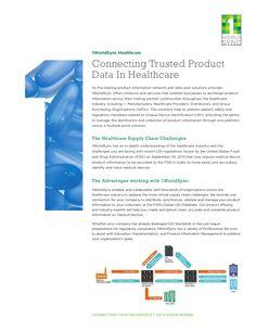 1WorldSync Healthcare Flyer by 1WorldSync via slideshare