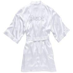 Victoria's Secret Bridal Robe ($58) ❤ liked on Polyvore