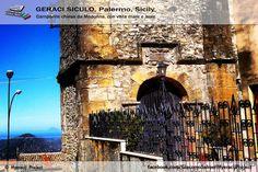 """#GeraciSiculo. . . . , non è solo Geraci!!!! è . . . . da . . . .VIVERE!!!, Campanile chiesa """"da Madonna"""" con vista Mare e isole Eolie!! www.hyeracijproject.it #ilgustodiviverelastoria, #ilborgocapitaledellaconteadeiVentimiglia!!! #festivalborghi, #ExpoBorghi, #unodeiborghipiubelliditalia, #Borghipiubelli, #borghiitalia, #Expo2015milano, #Expoidee, #Expo2015, #FestivalBorghiSicilia, #Italia, #Italy #kings_sicilia © #2014HyeracijProject"""