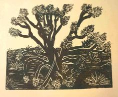 Joshua Tree by EluGallery on Etsy, $60.00