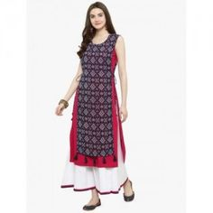 34 Types of Kurti Designs Every Woman Should Know - LooksGud. Indian Designer Outfits, Indian Outfits, Designer Dresses, Designer Kurtis, Salwar Suit Neck Designs, Churidar Designs, Side Slit Kurti, Kurta Patterns, Dress Patterns
