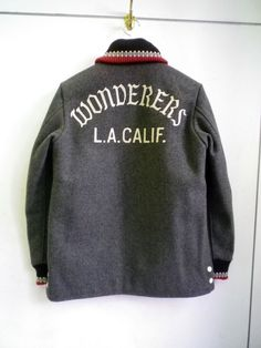 Wacko Maria — LA car club jacket