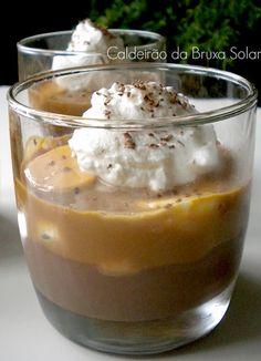 Choco banoffee dessert http://www.caldeiraodabruxasolar.com/2013/06/tacinhas-choco-banoffee.html