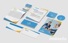 Diseño de Papelería Corporativa Costa Rica - Mi Diseño Web & Gráfico Costa Rica
