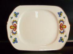 kl. Serving f butter or similar manufactory Porsgrund / Norway Model Farmers Rose |? EBay