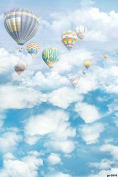 1.5x2.1m 子供は誕生日撮影は背景の布を使います 青空、白い雲、熱気球の写真の背景の布 Fiona https://www.amazon.co.jp/dp/B06WRWSP3P/ref=cm_sw_r_pi_dp_x_cZC9ybZ84426X