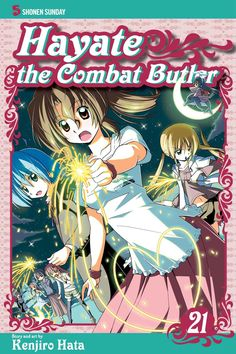 Hayate 21 • Hayate the Combat Butler by Kenjiro Hata (Hayate no Gotoku) Manga Covers Viz English Version Manga Covers, Butler, 21st, Comic Books, Princess Zelda, Comics, Anime, Movie Posters, English