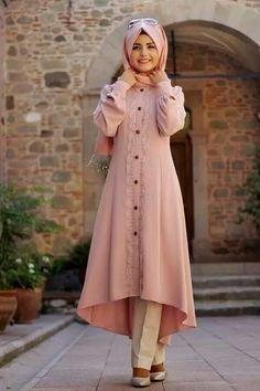 Hijab turkish mantu jacket loving this!!