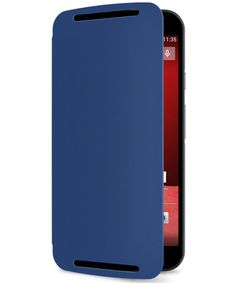 Motorola Moto G 2014 Flip Shell Royal Blue
