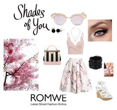 """""""romwe"""" by munevera-berbic ❤ liked on Polyvore featuring GUESS, Michael Kors, Saachi, Bling Jewelry and Le Specs"""