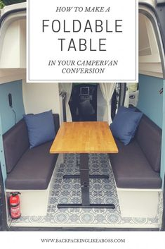 FOLDABLE TABLE FOR IN YOUR CAMERVAN