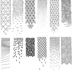 Drawing art ideas design zentangle patterns 62 ideas for 2019 Bullet Journal Inspo, Doodle Patterns, Zentangle Patterns, Zentangles, Cool Patterns To Draw, Doodle Borders, Art Patterns, Doodle Drawings, Doodle Art