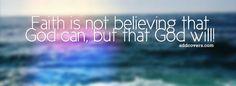 Faith in God Facebook Covers for Timeline.