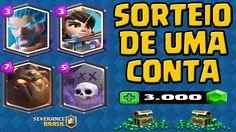 SORTEIO DE CONTA COM LENDÁRIAS  E 3000 GEMS E GIFT CARD R$50,00