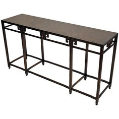 Baker Furniture Company, Console Table 1
